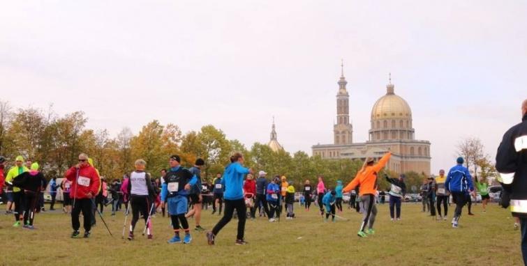 Startach kleczewskich biegaczy w Licheniu i Uniejowie