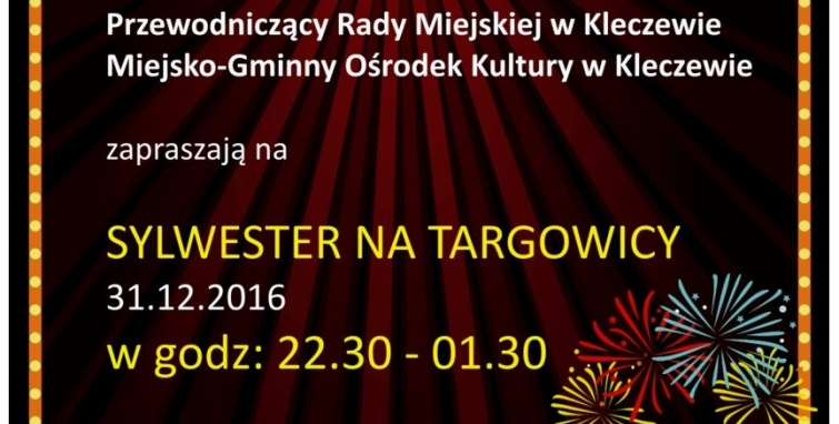 Sylwester na targowicy