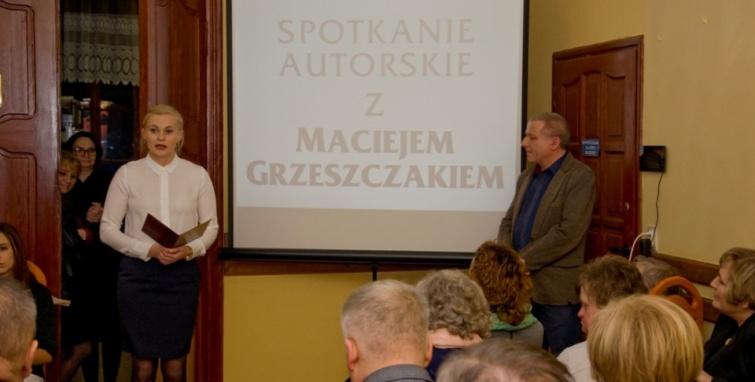 Spotkanie autorskie z Maciejem Grzeszczakiem