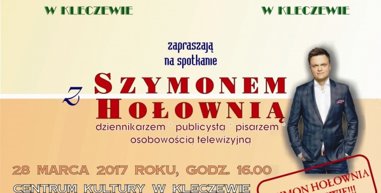 Szymon Hołownia w Kleczewie