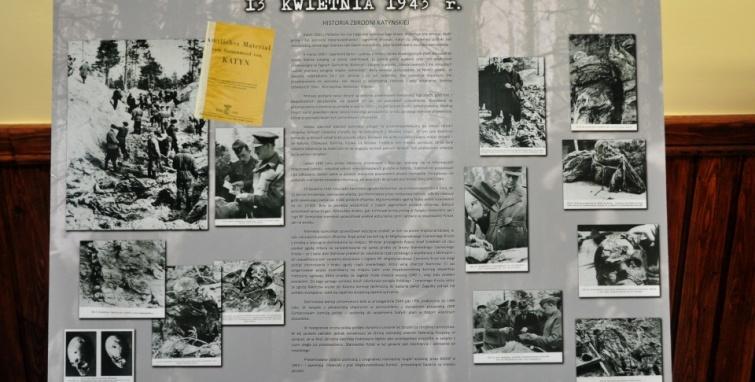 Wystawa Katyń 1940 Pamiętaj!