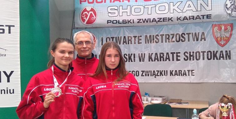 Sukces Marii Stranc na Pucharze Polski Karate Shotokan