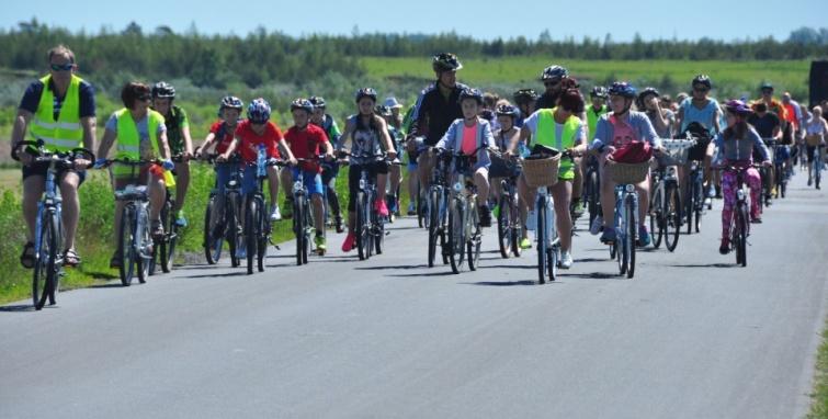 Rekordowy rajd rowerowy