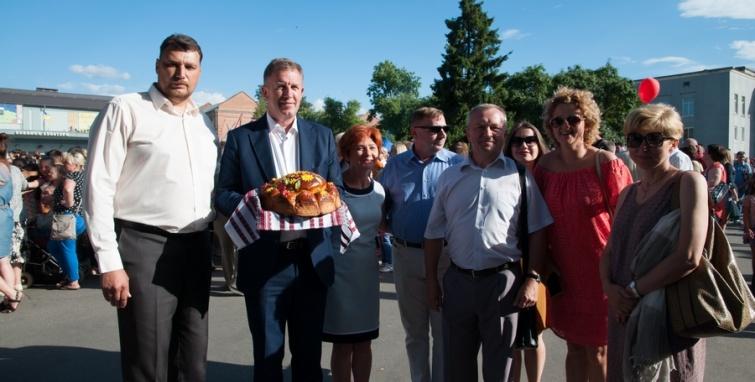 Delegacja z Kleczewa na święcie Koziatynia
