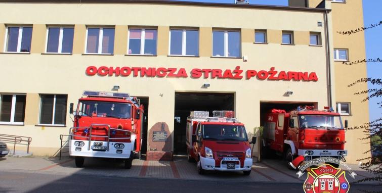 Strażacy OSP Gminy Kleczew oddali hołd Powstańcom Warszawskim