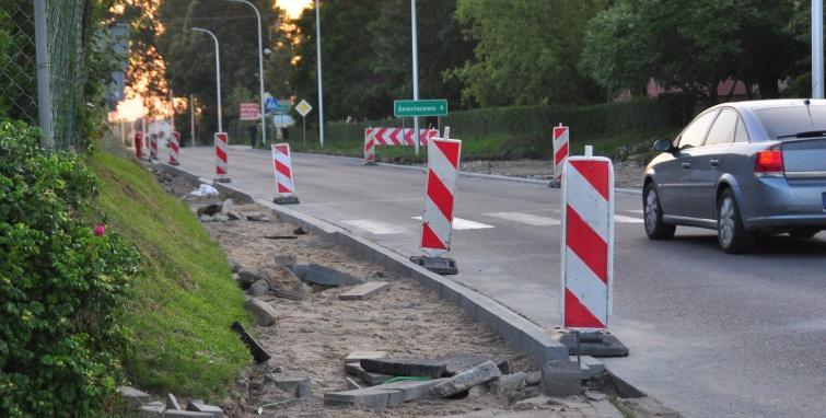 Remonty drogowe w Budzisławiu Kościelnym