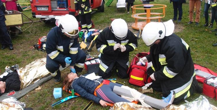 Strażackie ćwiczenia w Koziegłowach