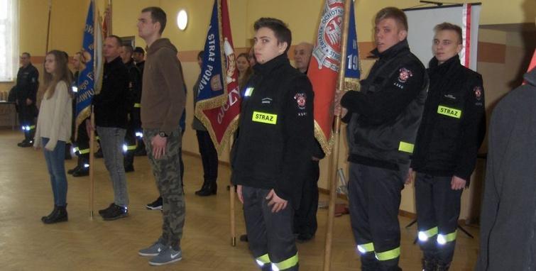 Szkolenie członków pocztów sztandarowych