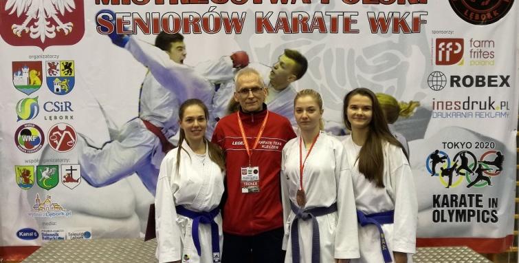Brązowy medal dla Justyny Szmajdki na mistrzostwach Polski