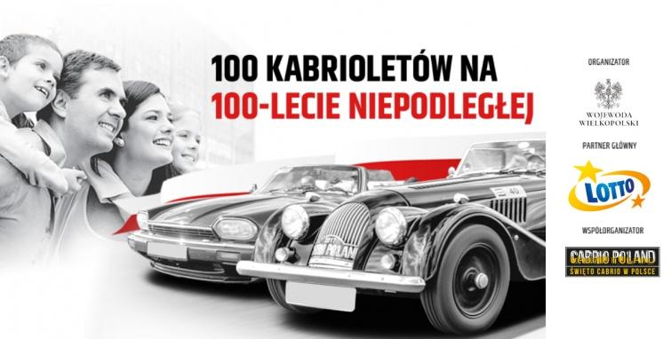 100 kabrioletów na 100-lecie Niepodległej