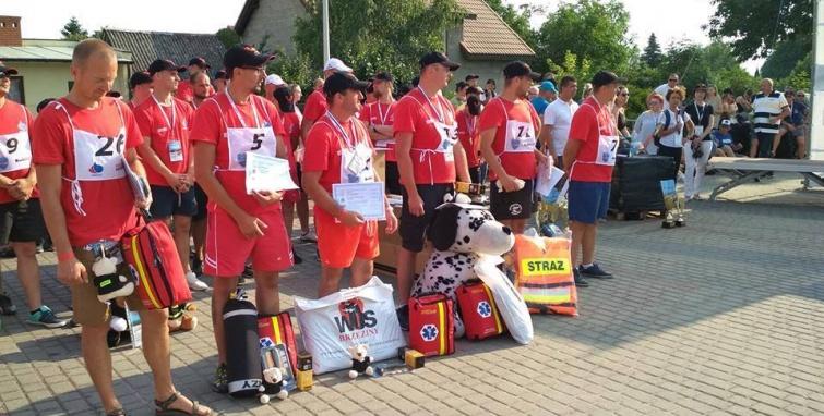 XII Mistrzostwa Polski Strażaków Ochotników w Ratownictwie Wodnym i Powodziowym