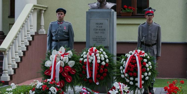 Piłsudski w Kleczewie