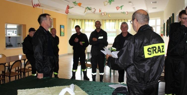 Cykl szkoleń dla członków ochotniczych straży pożarnych