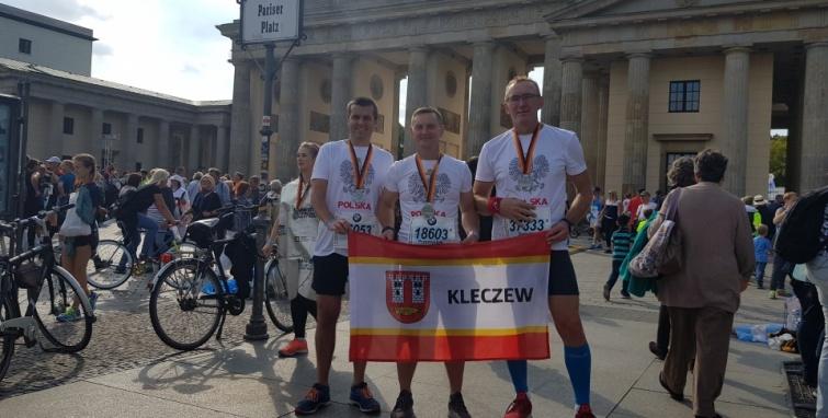 Kleczewscy długodystansowcy na maratonie w Berlinie