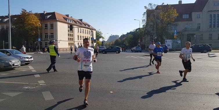 Kleczewscy maratończycy w Poznaniu