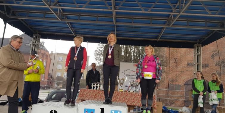 Sukcesy na biegowych trasach w Kole i Żninie