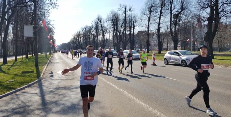 Życiówka Andrzeja w Maratonie Gdańsk