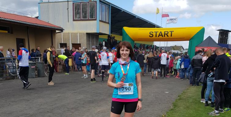 Życiówka Agnieszki w Trzemesznie i Wings for Life World Run