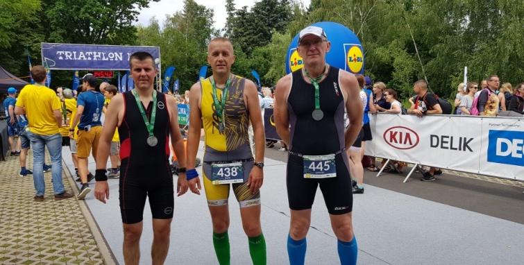 Kleczewscy triathloniści w Lusowie i Ślesinie