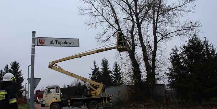 Warsztaty z zakresu ratownictwa technicznego dla strażaków OSP  z terenu gminy Kleczew.