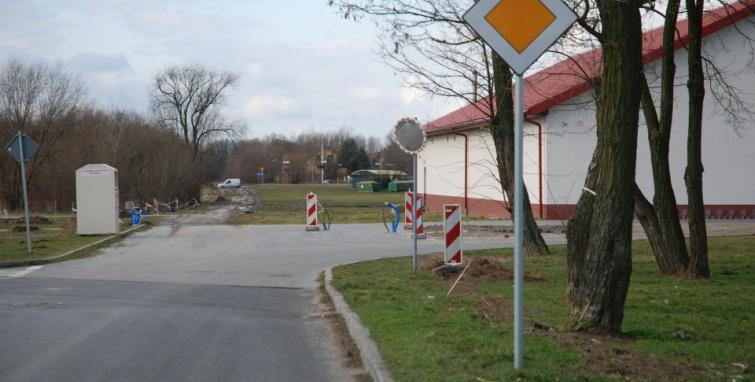 Trwa budowa dróg w Kleczewie