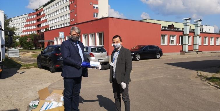 Gmina Kleczew pomaga szpitalowi